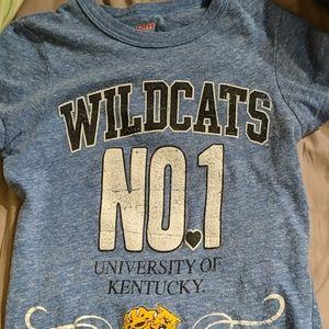University of Kentucky Wildcats T shirt